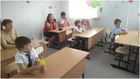 Открытие новой школы в Волгограде