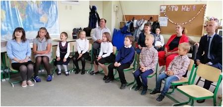 Начало учебного года в Архангельске