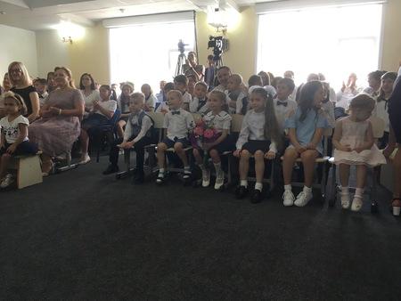 Ученики школы в Кишиневе